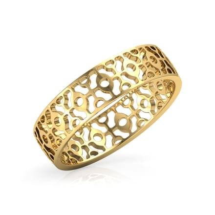 Abstract Cutout Ring