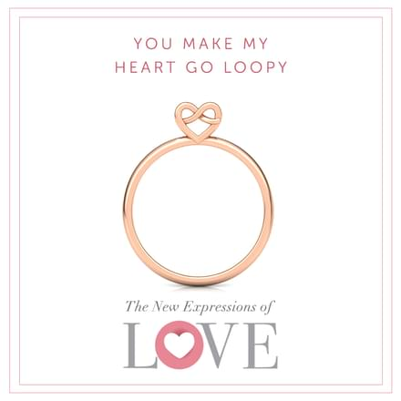 Twine Love Ring
