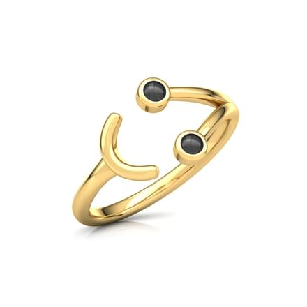 Smiley Midi Ring
