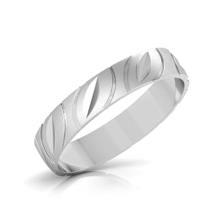 June Platinum Band for Her