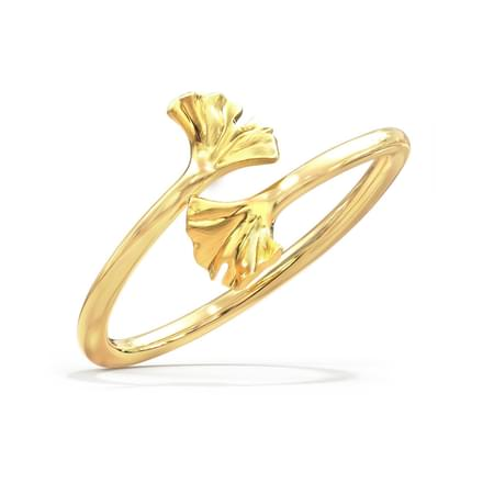 Alluring Ginkgo Ring