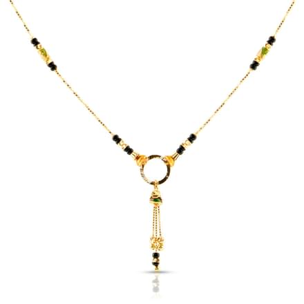 Lema Tassel Gold Mangalsutra