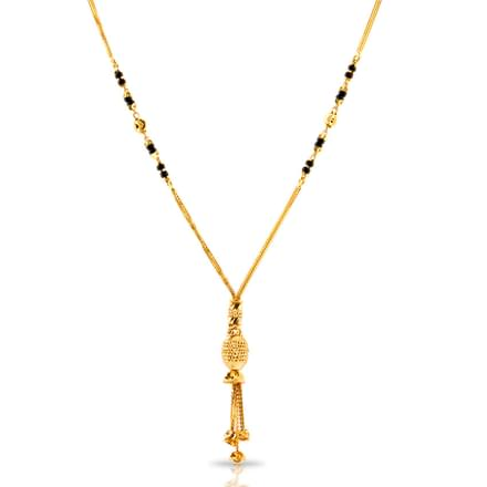 Monal Bunched Gold Mangalsutra