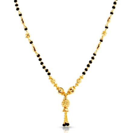 Mahi Beaded Gold Mangalsutra