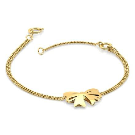 Cutout Bow Kids Bracelet
