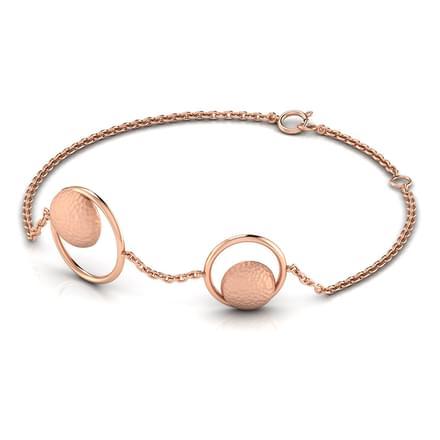 Enda Hammered Bracelet