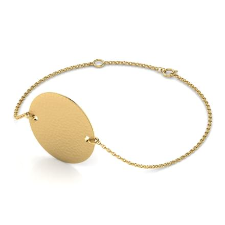 Coy Hammered Bracelet