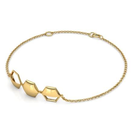 Ansley  Geometric Bracelet