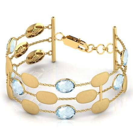 Galia Stamped Bracelet