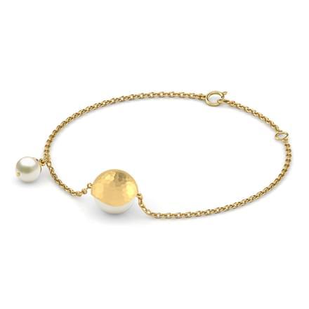 Orla Hammered Bracelet