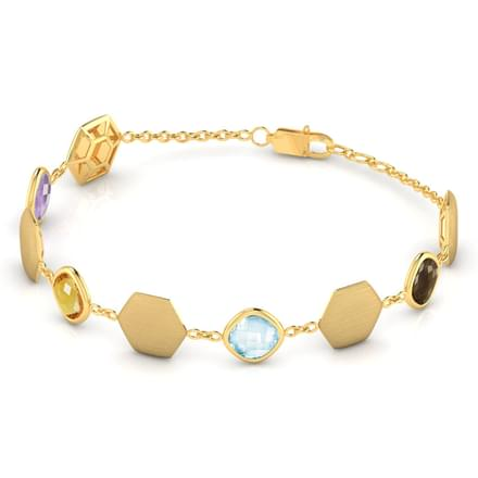 Andria Stamped Bracelet