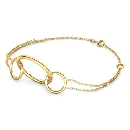 Trinity 'O' Bracelet