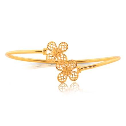 Hila Floral Gold Bracelet