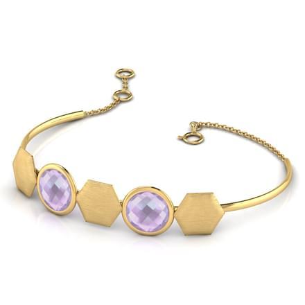 Macey Stamped Bracelet