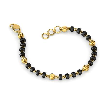 Textured Bead Bracelet