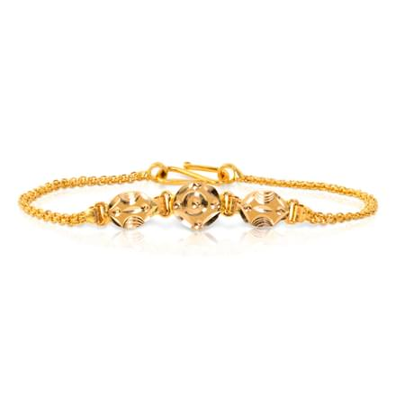Lea Textured Bracelet