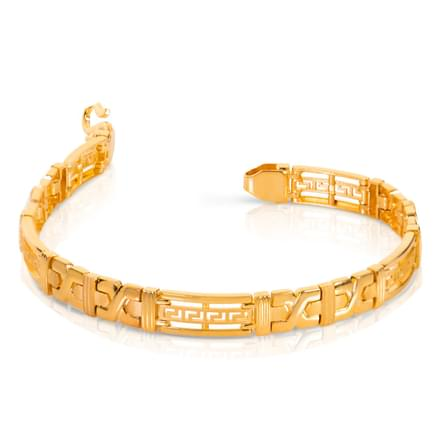 Criss cross cutout bracelet