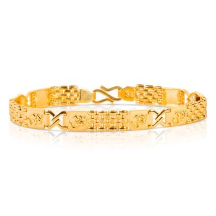 Double Twist Flat Bracelet
