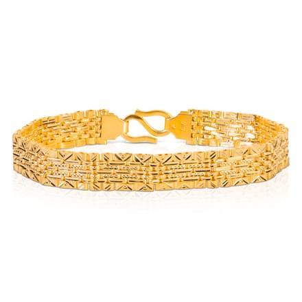 Flat Textured Bracelet