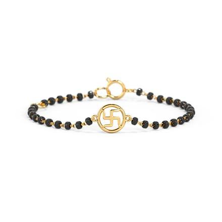 Circle Swastika Bracelet