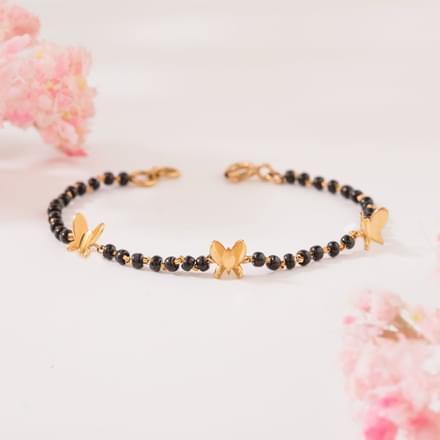Trio Butterfly Infant Bracelet