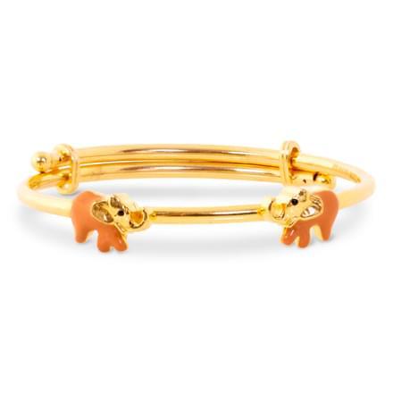 Elephant Circle Bracelet