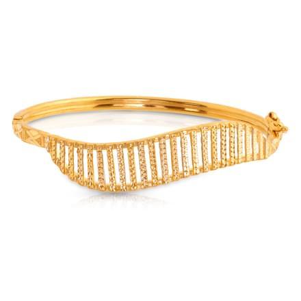 Linear Gold Bracelet