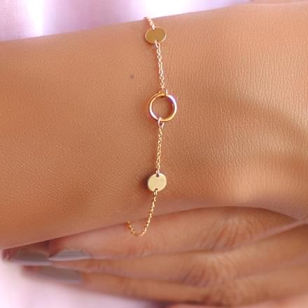 Loop and Circlet Bracelet
