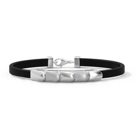 Ivan Platinum Bracelet for Him