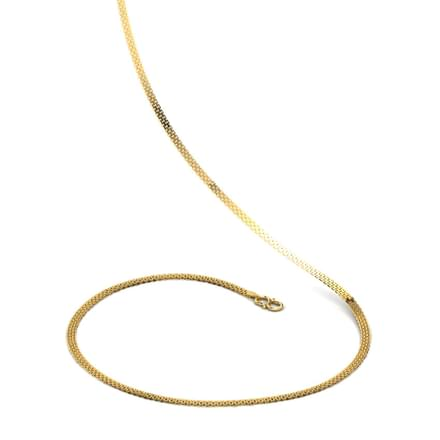 Triple Box linked 20 Inch 22kt Gold Chain