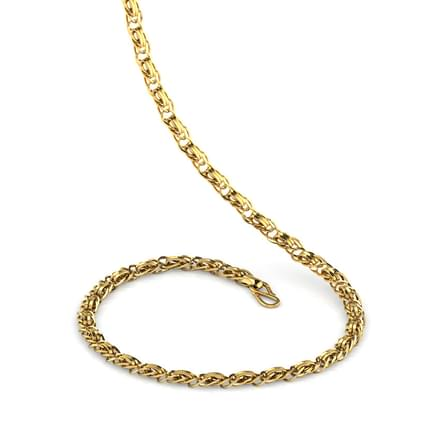 Intertwisted Link Gold Chain