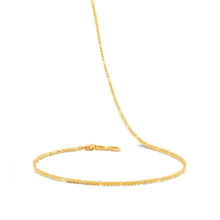 Ahi 20 Inch 22Kt Gold Chain
