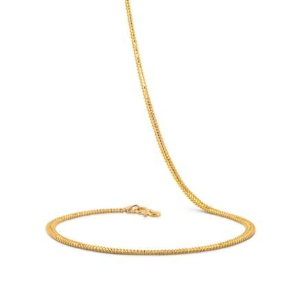 Eden 18 Inch 22Kt Gold Chain