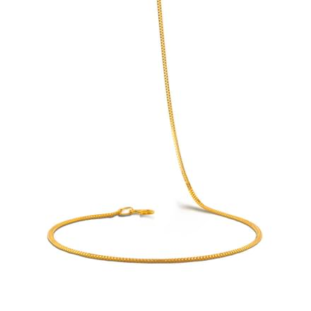 Emery 18 Inch 22Kt Gold Chain