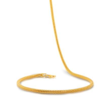 Ira 18 Inch 22Kt Gold Chain