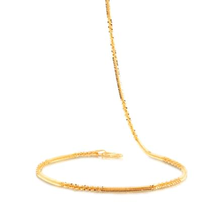 Twisted Link Gold Chain