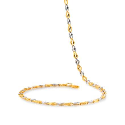 Gail 18 Inch 22Kt Gold Chain