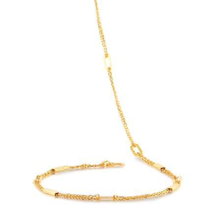 Jessie 20 Inch 22Kt Gold Chain
