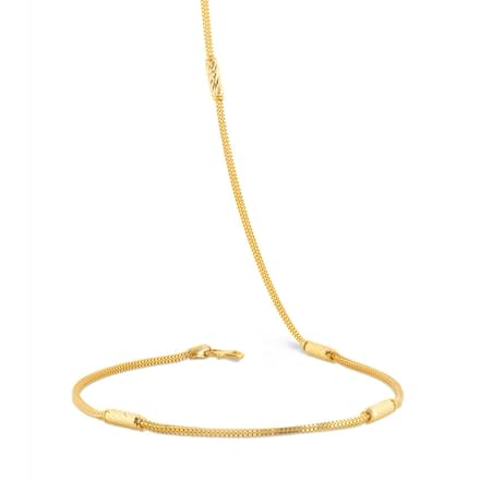 Texture Tube Venetian Gold Chain
