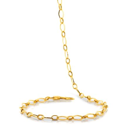 Cleo 20 Inch 22Kt Gold Chain