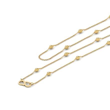 Pallet 16 Inch 22Kt Gold Chain