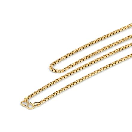 Clem 16 Inch 22Kt Gold Chain
