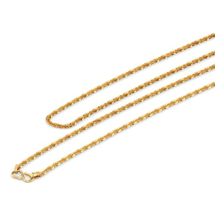 Ray 22 Inch 22Kt Gold Chain