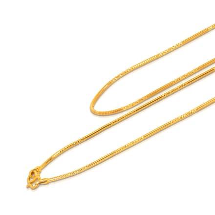 Carol 18 Inch 22Kt Gold Chain