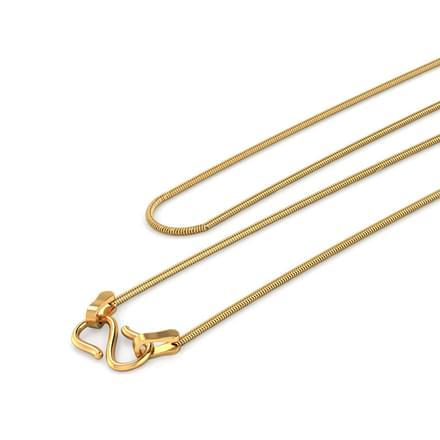 Kris 14 Inch 22Kt Gold Chain