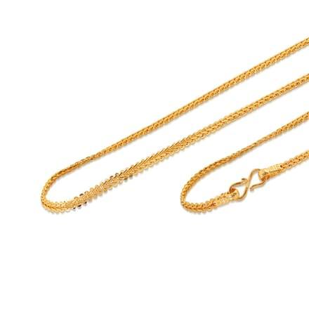 Aida 18 Inch 22Kt Gold Chain