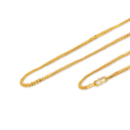 Agnes 18 Inch 22Kt Gold Chain