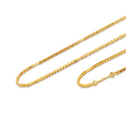 Pura 18 Inch 22Kt Gold Chain