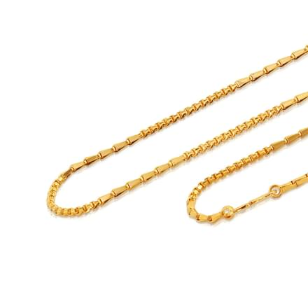 Lore 20 Inch 22Kt Gold Chain