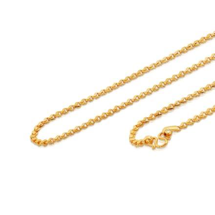 Nita 18 Inch 22Kt Gold Chain